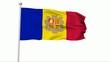 Fahne Andorra PAL