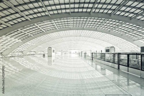 Foto op Canvas Luchthaven modern hall