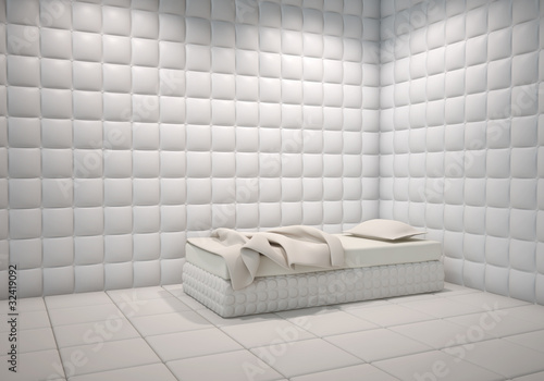 mental hospital padded room