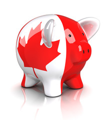 Piggy Bank -Canada