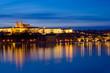 Fototapete Brücke - Charles - Schloss