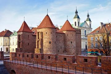 Barbican in Warsaw / Poland