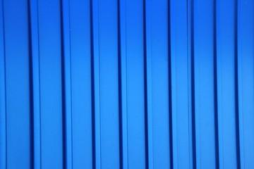 Синий профнастил, фон