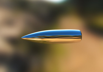 Silver bullet in flight