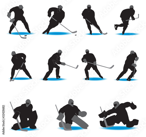 Hockey Silhouettes