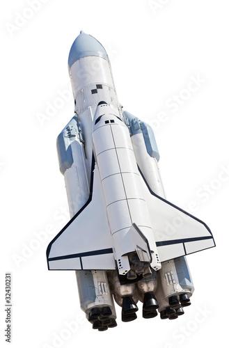 Plexiglas Ruimtelijk Spaceship Buran
