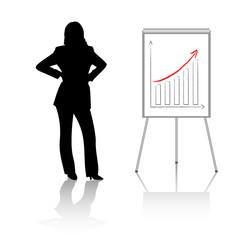 business concept - success