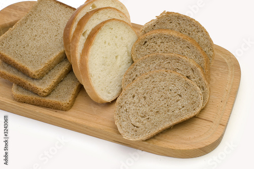 Many sorts of bread