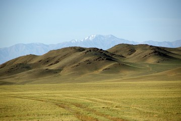 Paysage, Mongolie