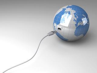 Verbundene Welt