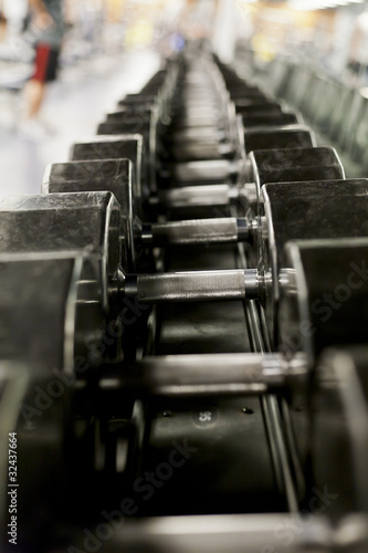 Heavy Weights in a gym