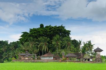 Indonesia, Bali, Traditional village