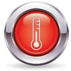 Thermometer - Button rot