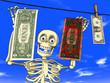Cartoon - money laundering