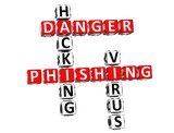Phishing Danger Crossword poster