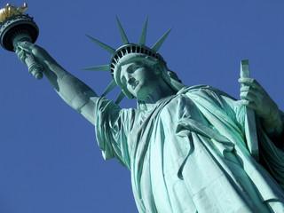 Statue of Liberty at angle