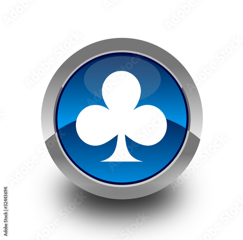 Card symbol button