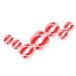 Zahnradpaarung 1 - rot