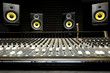 Mixing desk with speakers - 32448663