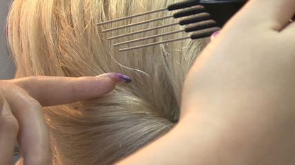 Preparing hairstyles