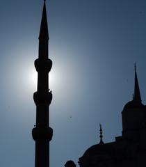 Sultanahmet Cami, ışık ve silüet