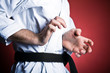 Practice karate at home or gym