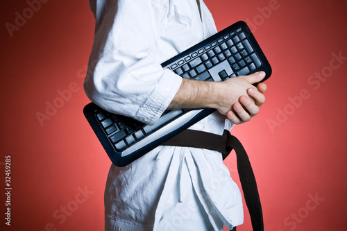 Master your karate degree and computer