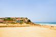 Monte Clerigo at the atlantic ocean in Portugal