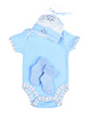 Blue baby clothes for infant boy