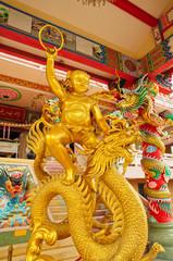 Sculpture of Naja in Temple