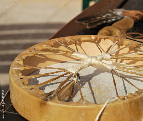 Leinwanddruck Bild Shaman's drum