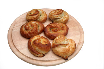 Burek, pie with meat, cheese or spinach