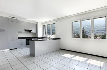 interno di cucina moderna
