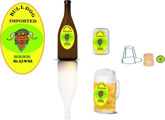 etichetta birra
