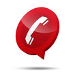Icono 3d telefono emergencia