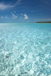 Perfect tropical ocean water.
