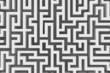 abstract grey maze