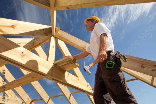 construction roofer