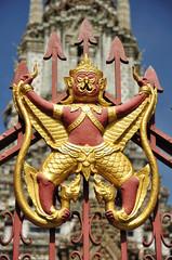 Garuda on the wall