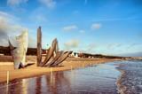 Sculpture à Omaha Beach - Saint-Laurent-Sur-Mer poster