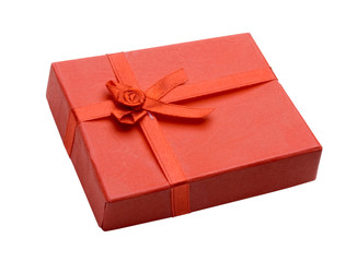 isolated small gift box