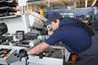 Fachkraft im metallverarbeitenden Gewerbe