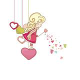 Fototapety little love fairy