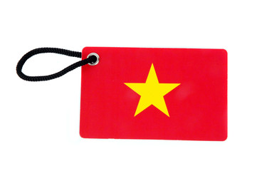 Vietnam flag tag