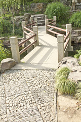 Traditional Asian bridge