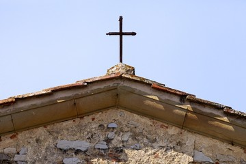 Calenzano Alto, particolare chiesa medievale