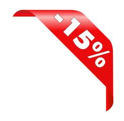 -15% Rabatt
