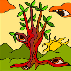 albero mano