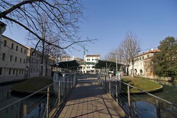 Isola della pescheria storica di Treviso