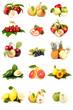 Insieme di frutti misti